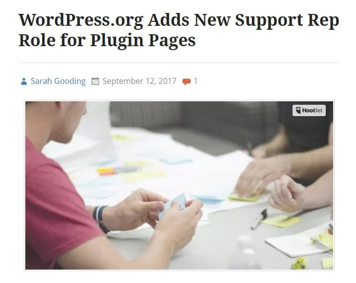Support Rep Role for Plugin Pages