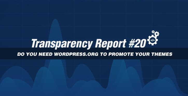 transparency report #20
