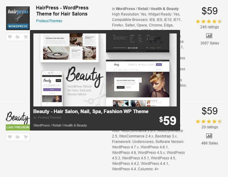 Cover Image ProteusThemes