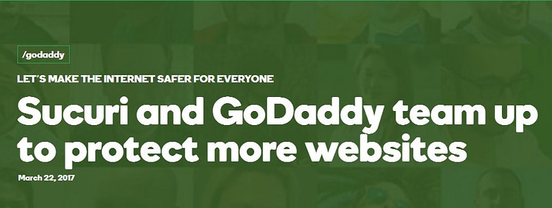 Sucuri and GoDaddy team up