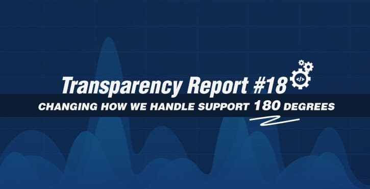 Transparency Report #18