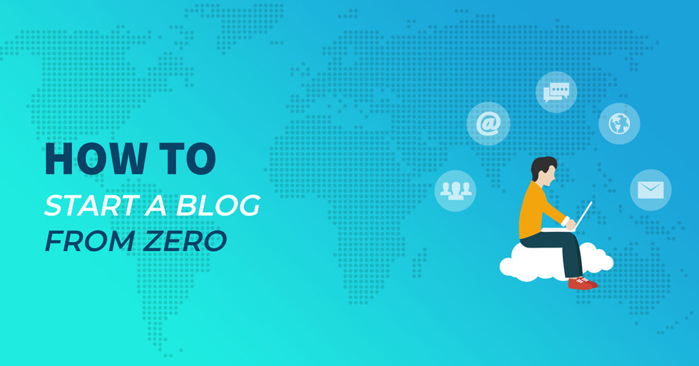 How to start a blog from zero