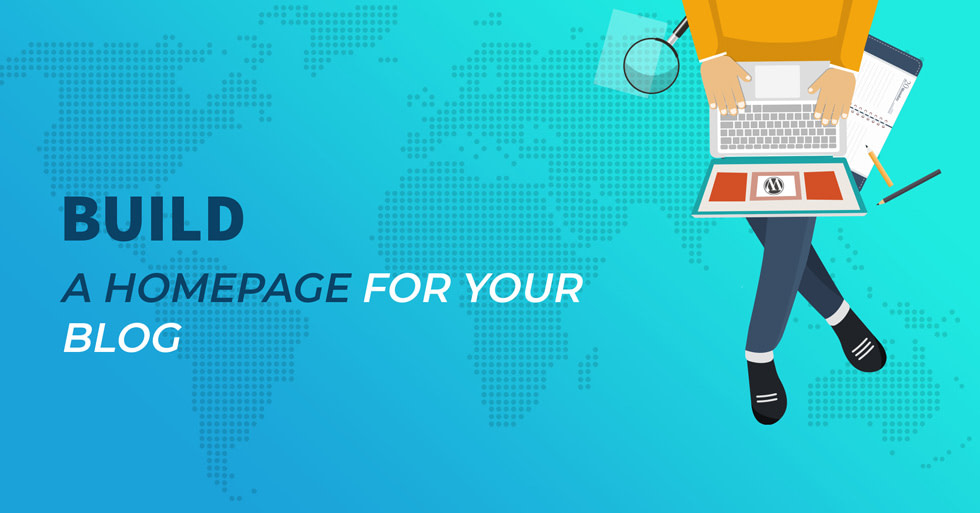 Build a homepage for your blog