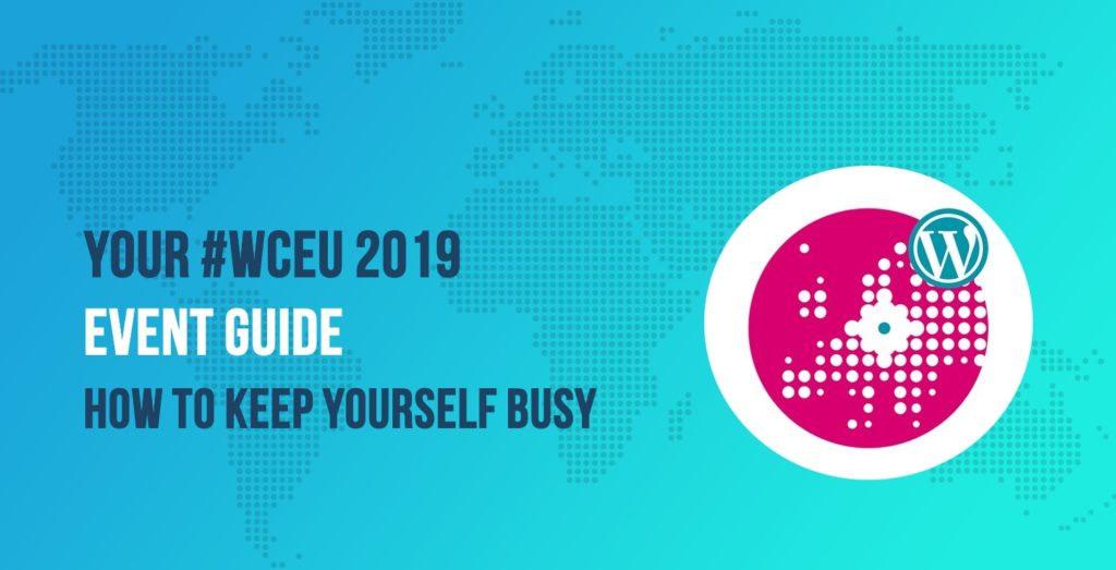 #WCEU 2019 Event Guide