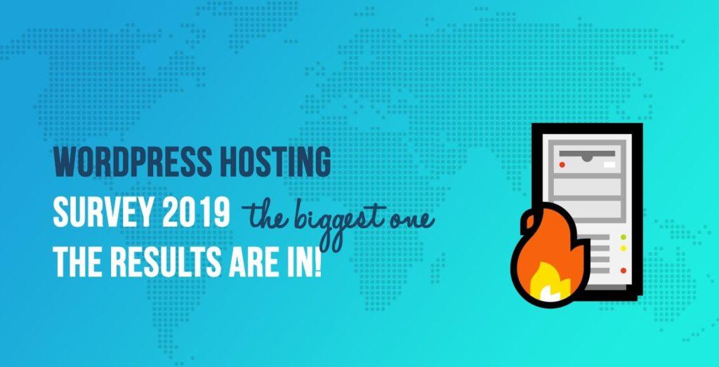 WordPress Hosting Survey 2019