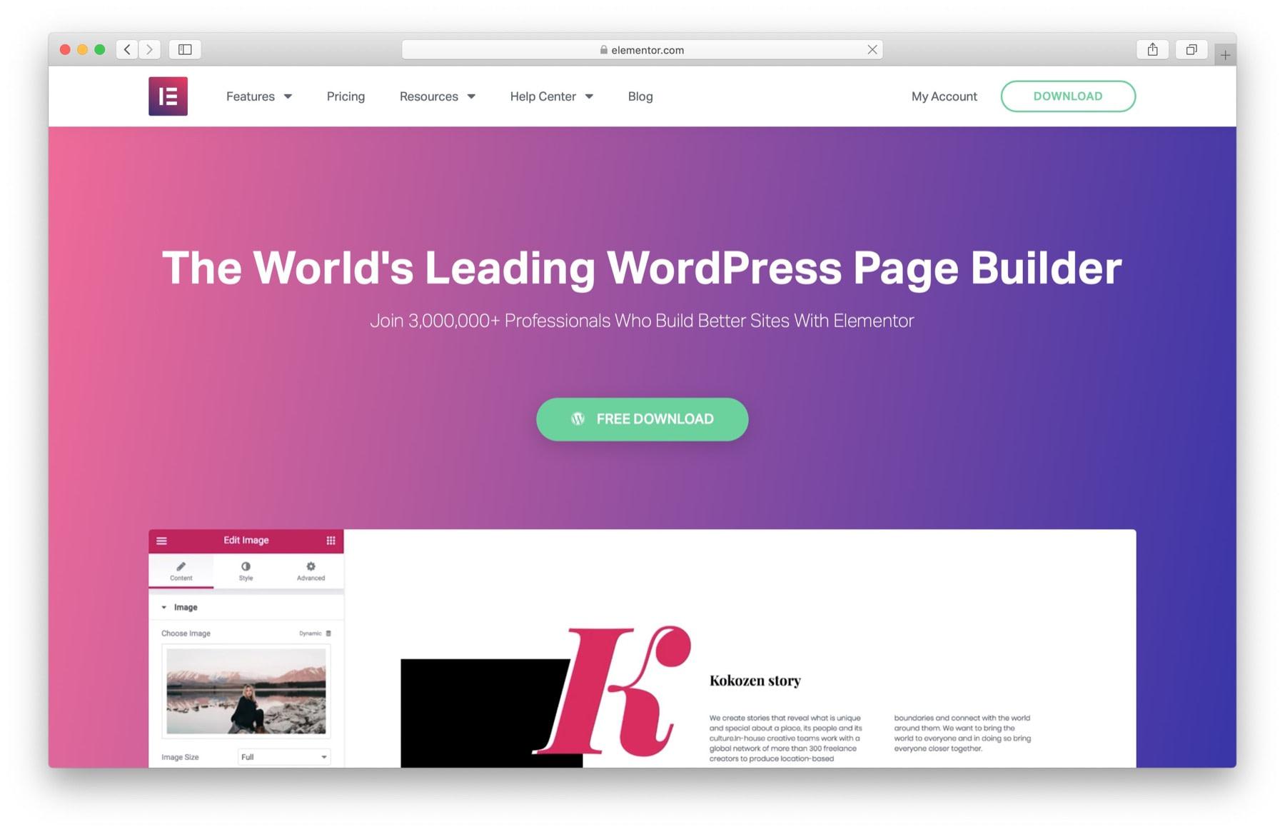 WordPress Black Friday 2019: Elementor