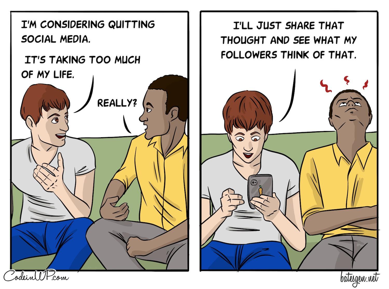 Quiting Social Media