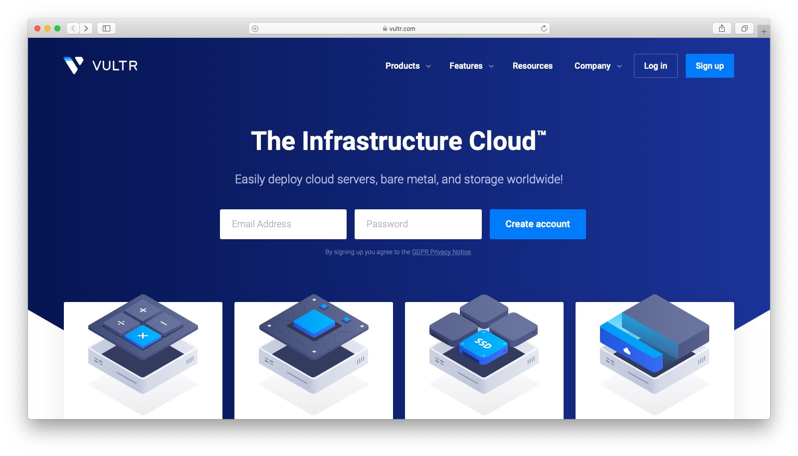 DigitalOcean alternatives: Vultr