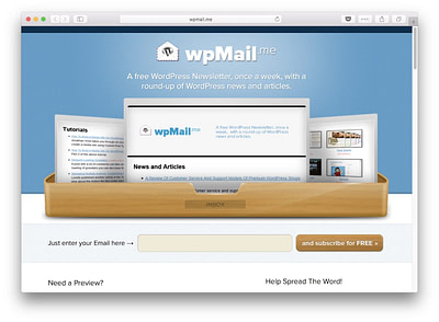 best tech newsletters #1: wpmail