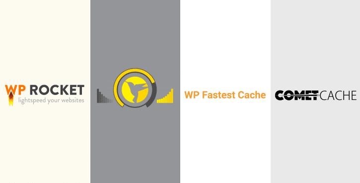 WP Rocket vs Hummingbird vs WP Fastest Cache vs Comet Cache
