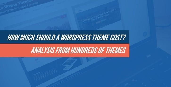WordPress Theme Cost