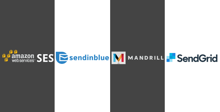 Best SMTP providers: Amazon SES vs Sendinblue vs SendGrid vs Mandrill