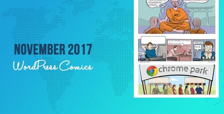November 2017 WordPress Comics