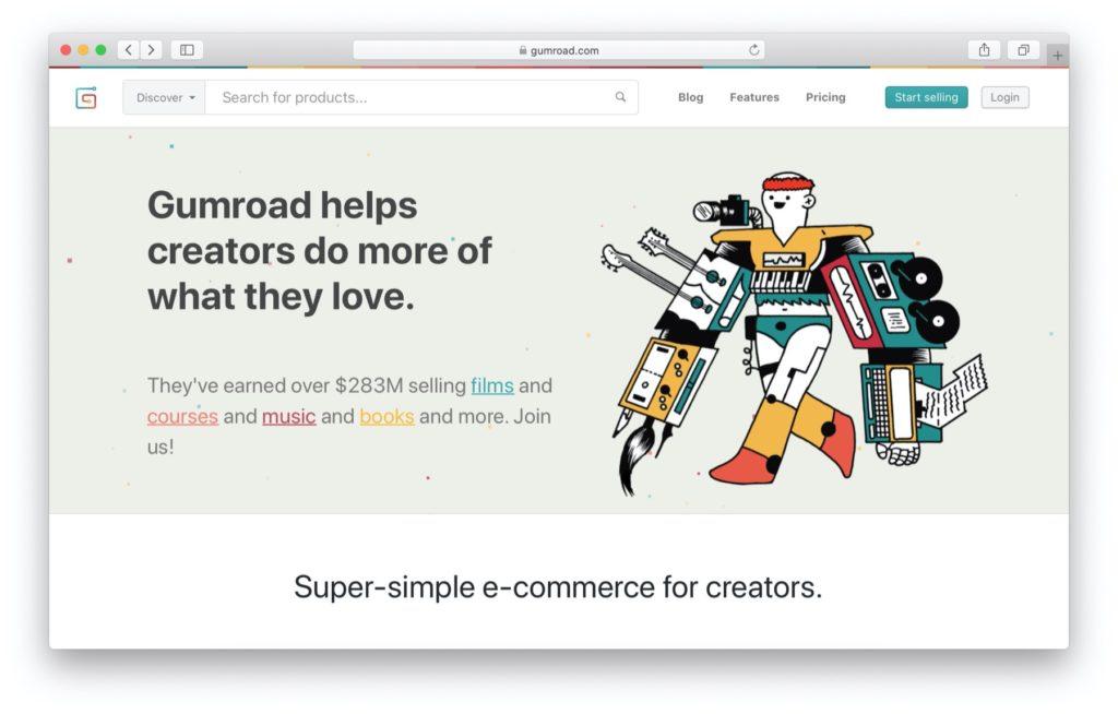 Best Shopify alternatives: Gumroad