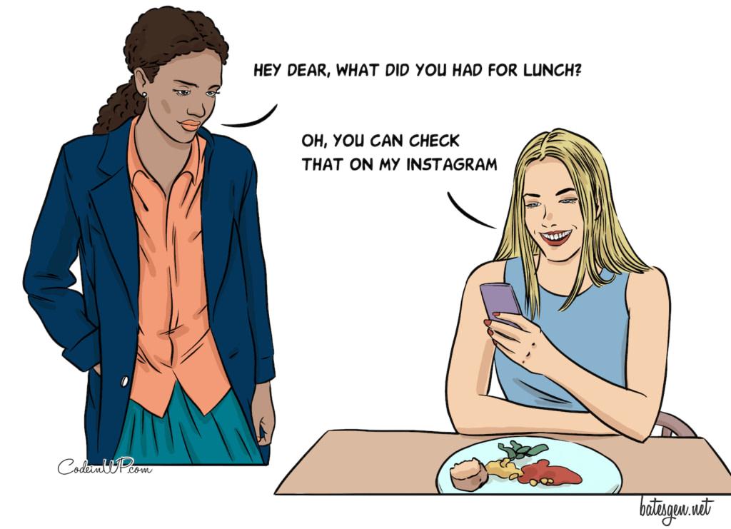 Tweet your food - Best Tech Comics of 2020