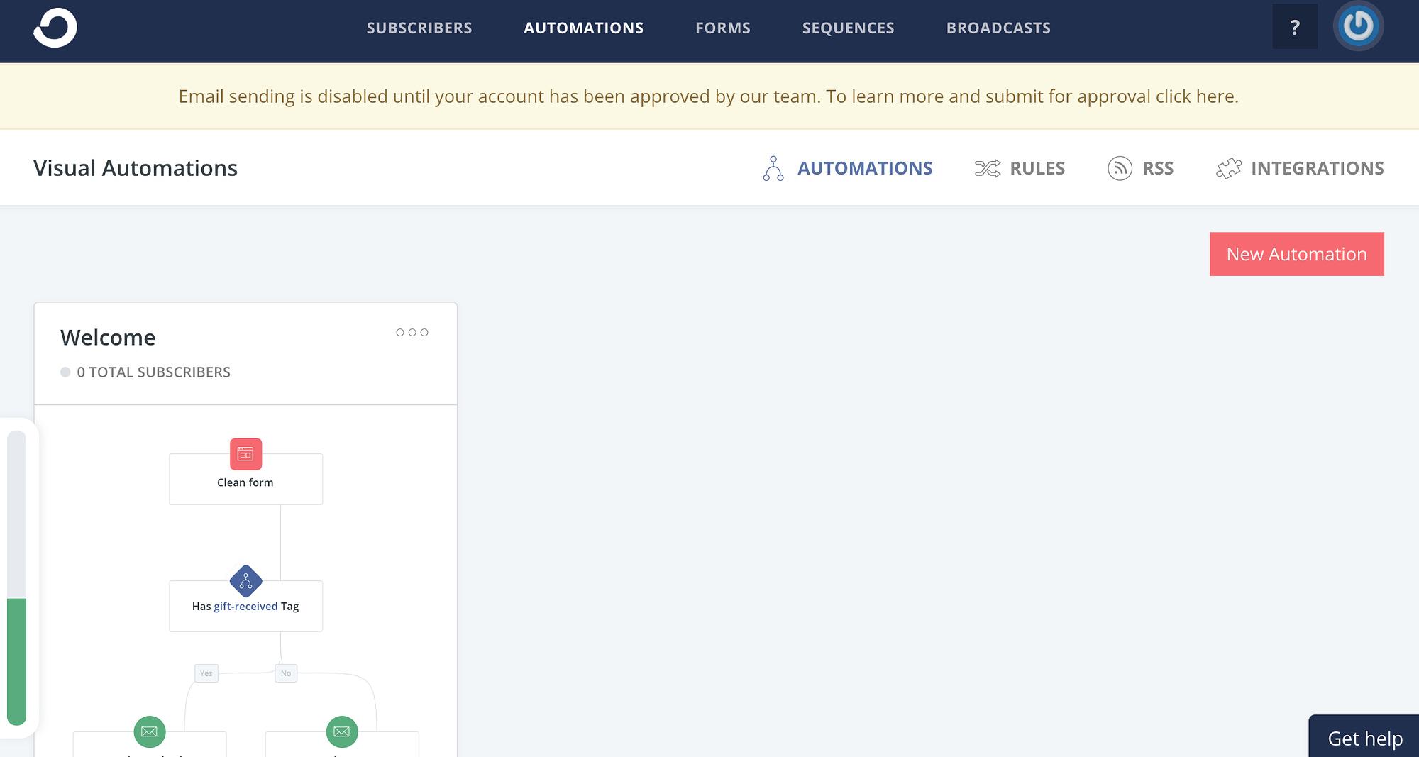 ConvertKit automations