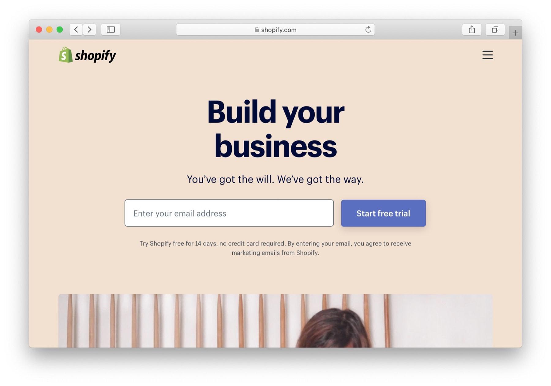 shopify - great platform to start eCommerce business