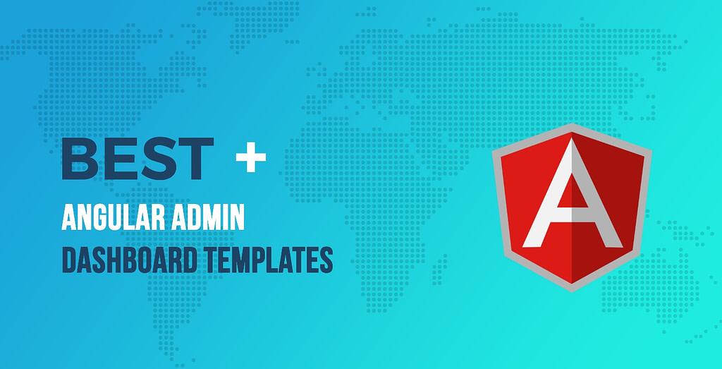 Best Angular Admin Dashboard Templates