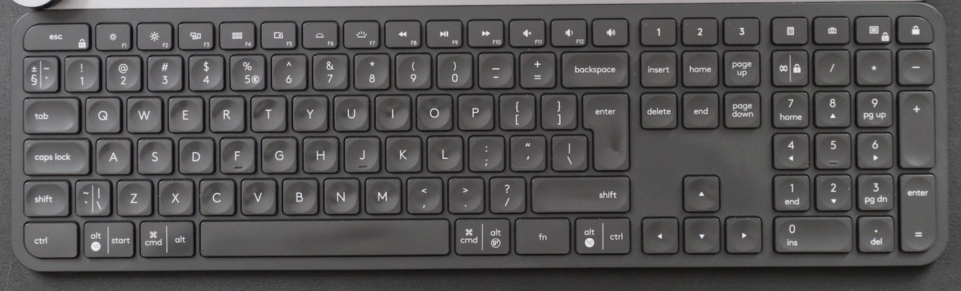 best mac keyboards #1: logitech mx keys