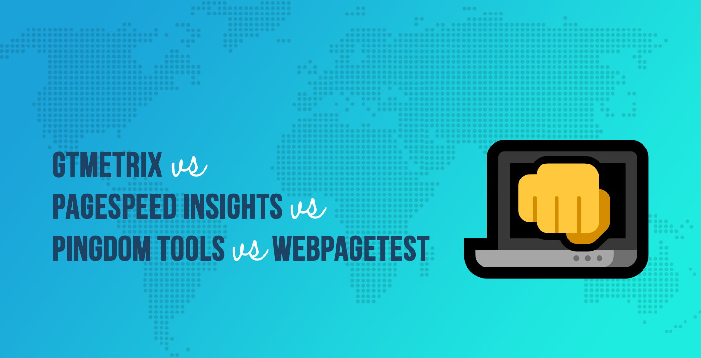 GTmetrix vs PageSpeed Insights vs Pingdom Tools vs WebPageTest