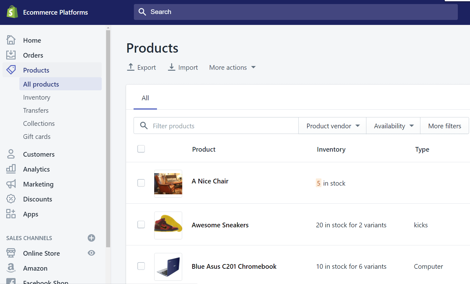 ecommerce for Wix vs Shopify