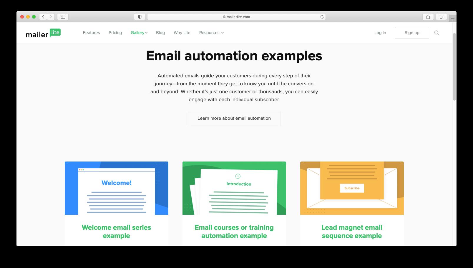 Best free autoresponder tools: MailerLite