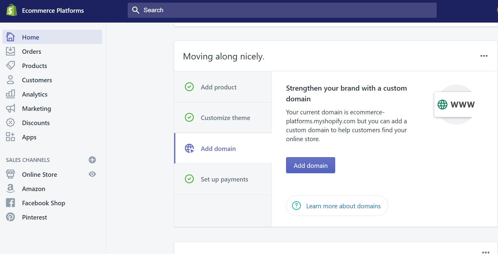 dashboard shopify