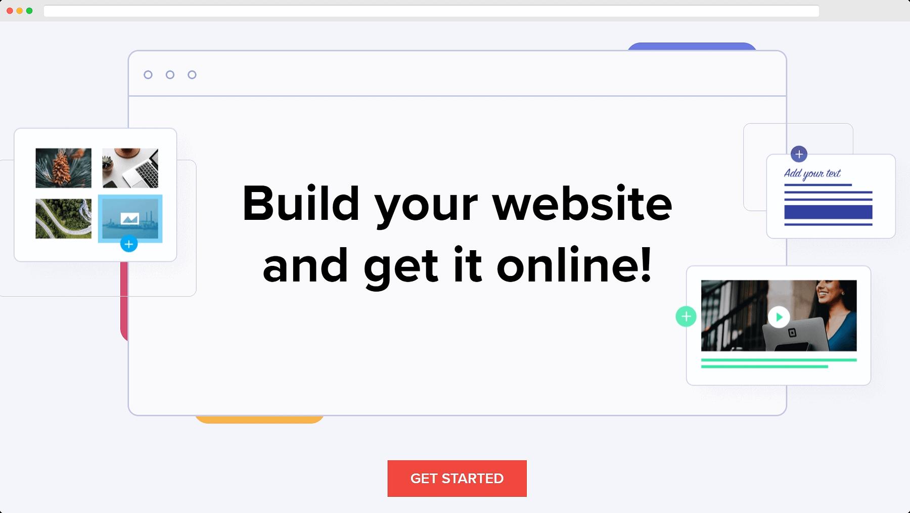 zoho website builder