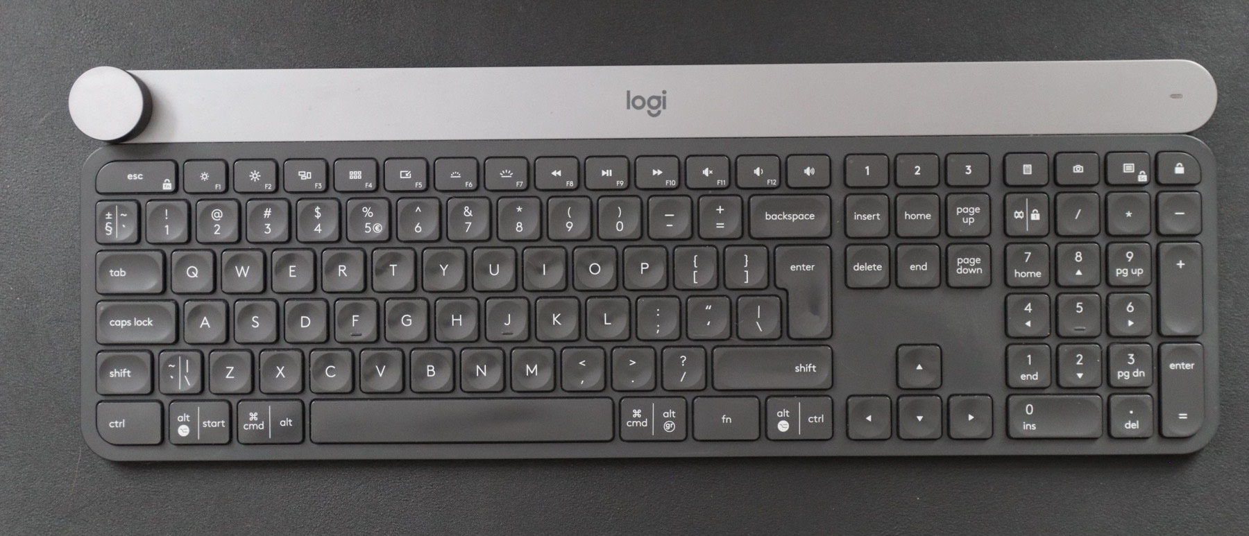 best mac keyboards: logitech craft