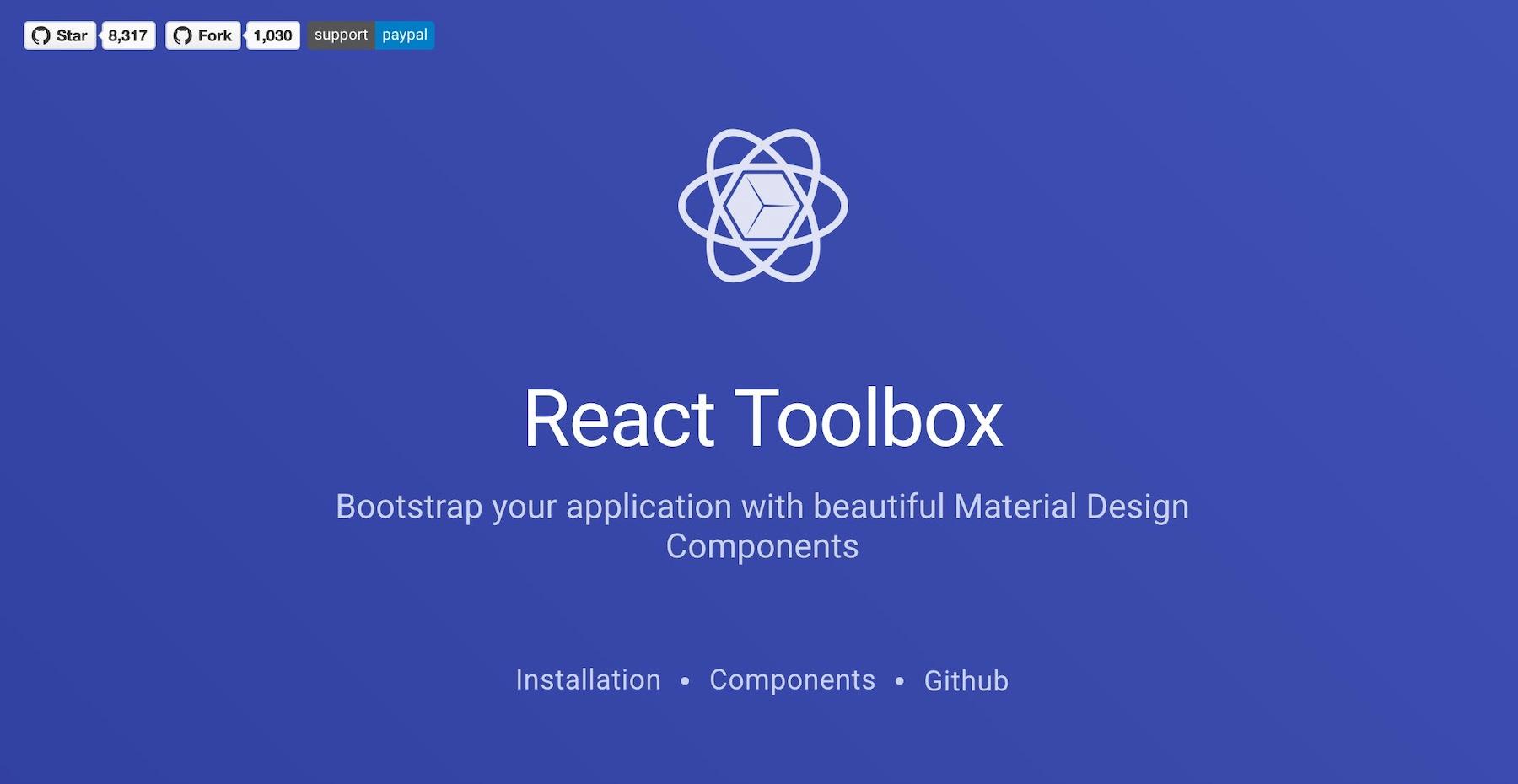 react-toolbox