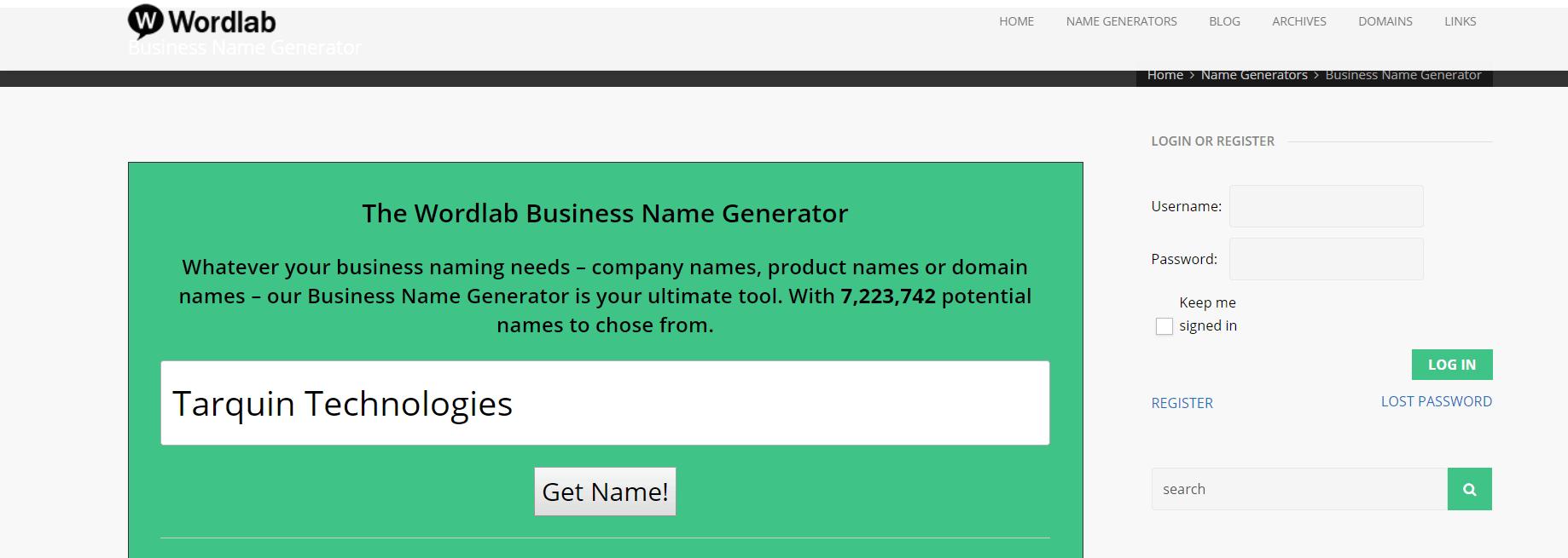 WordLab suggestion