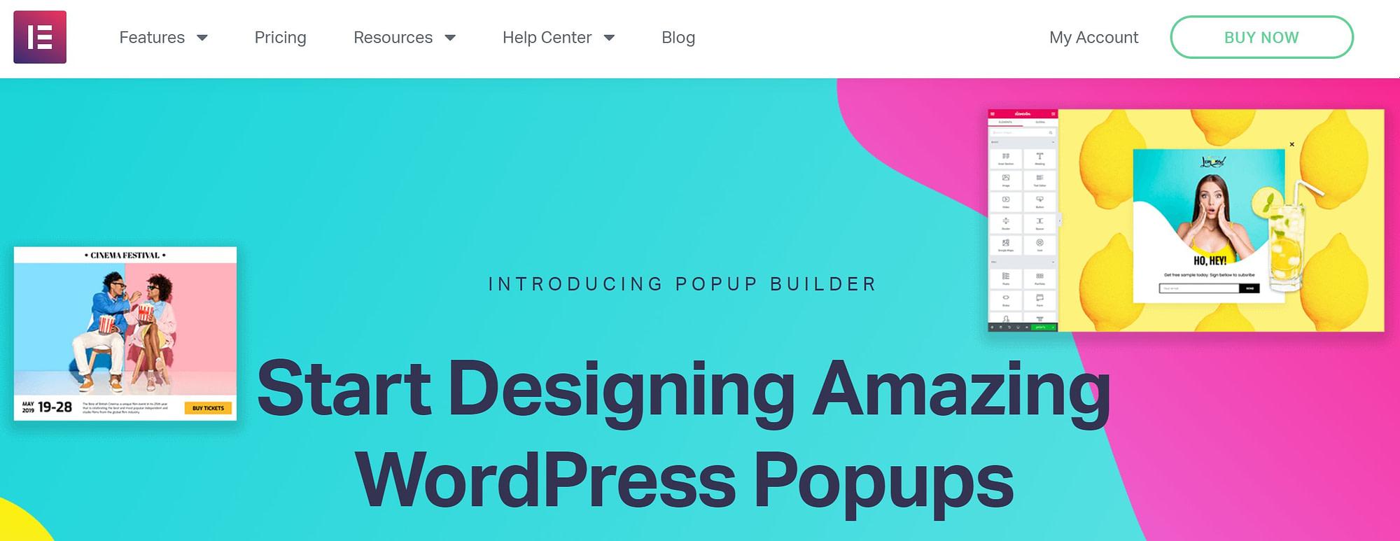 Elementor Pro Popup Builder
