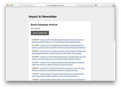 Import AI