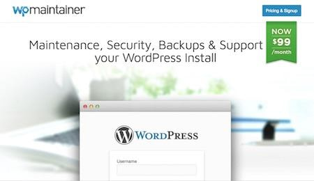 WP Maintainer