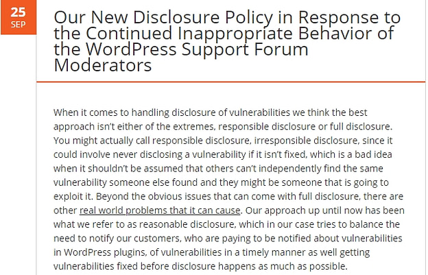 Plugin Vulnerabilities protests in May 2019 WordPress News with CodeinWP