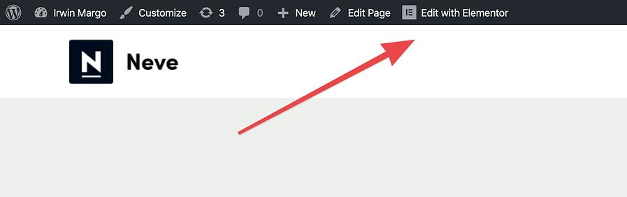 Hoe maak je een WordPress-website: bewerk met Elementor