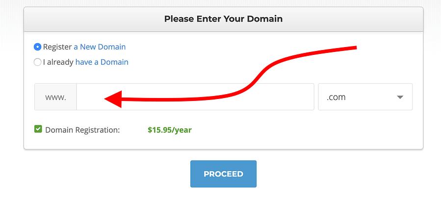 SiteGround-domein