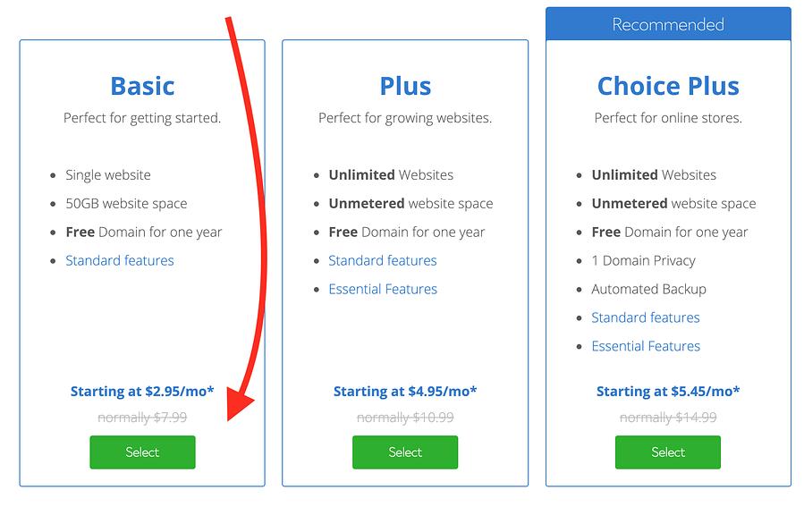 Hoe maak je een WordPress-website op Bluehost basic