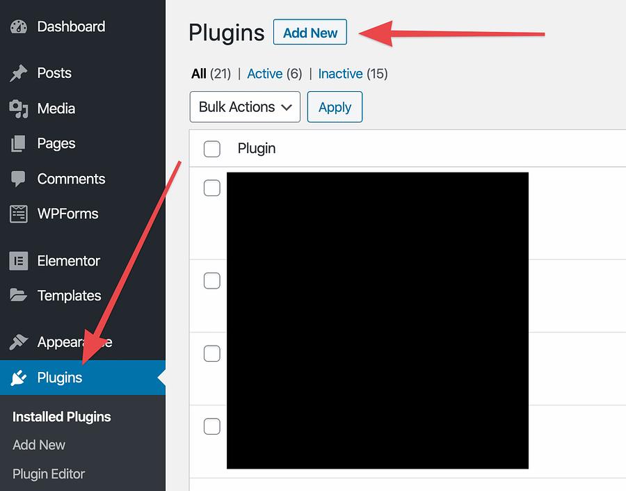 plug-ins nieuwe toevoegen