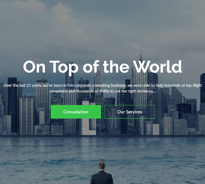 Best Adobe Muse Templates: Consult