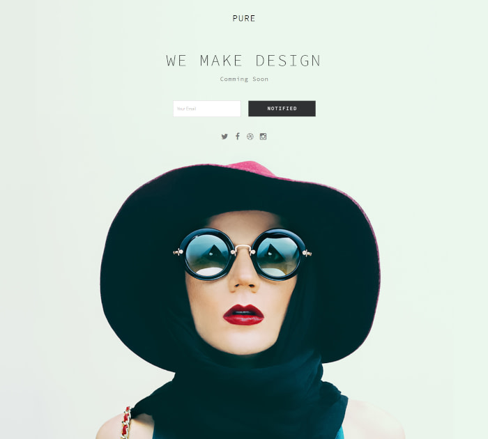 Best Adobe Muse Templates: Pure