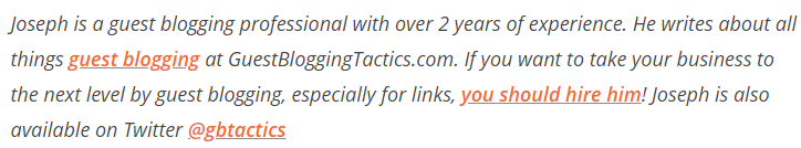 guest blogging services bio