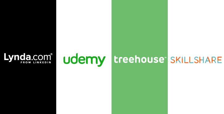 Udemy vs Lynda vs Treehouse vs Skillshare