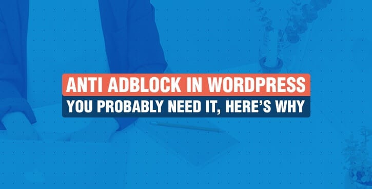 anti adblock in WordPress