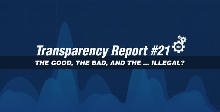 transparency report 21