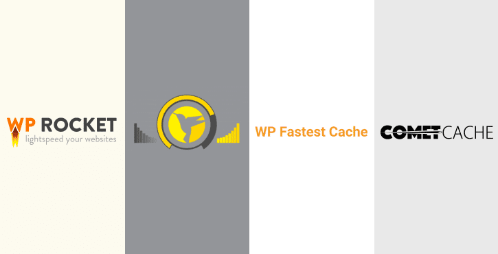 Finding the best WordPress caching plugin: WP Rocket vs Hummingbird vs WP Fastest Cache vs Comet Cache