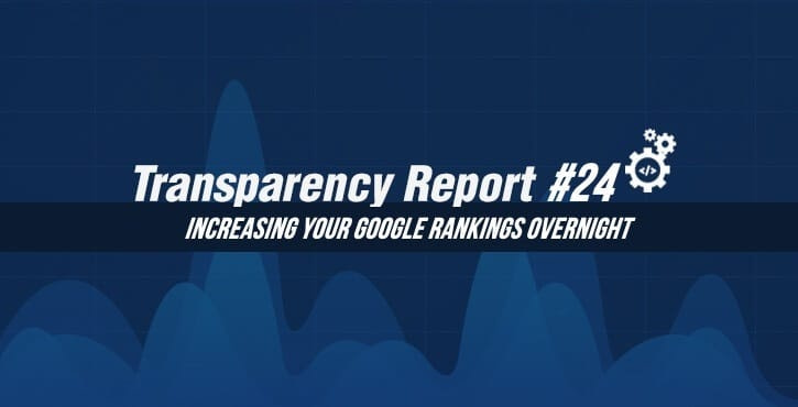 Transparency Report 24