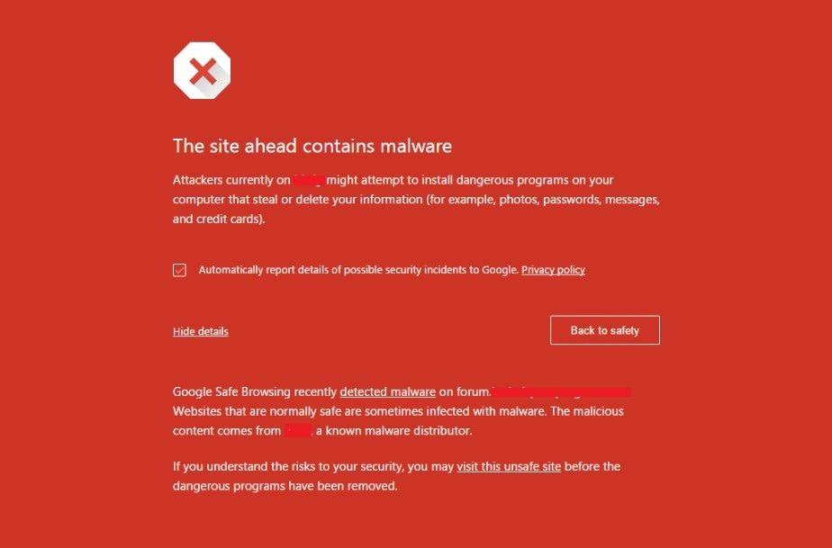 malware malicious site