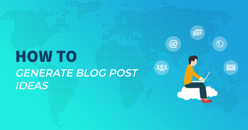 如何生成博客文章的想法