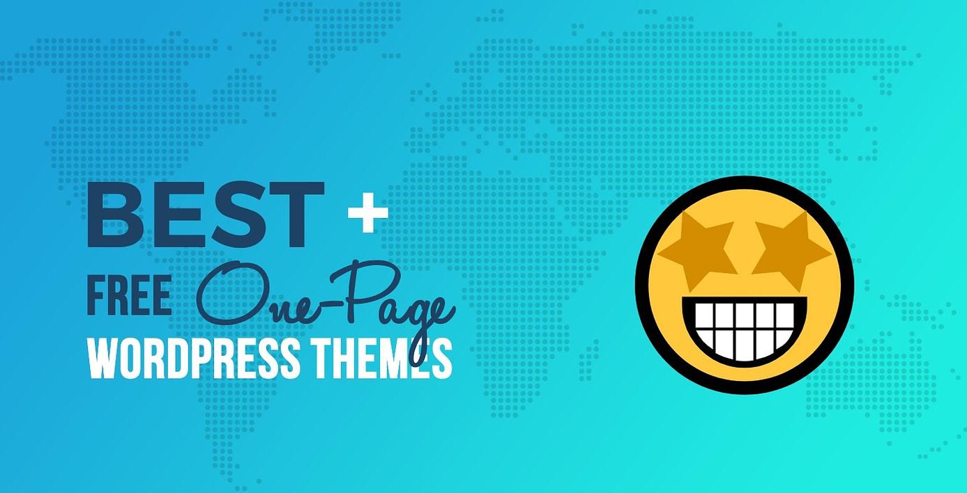 best free one-page WordPress themes